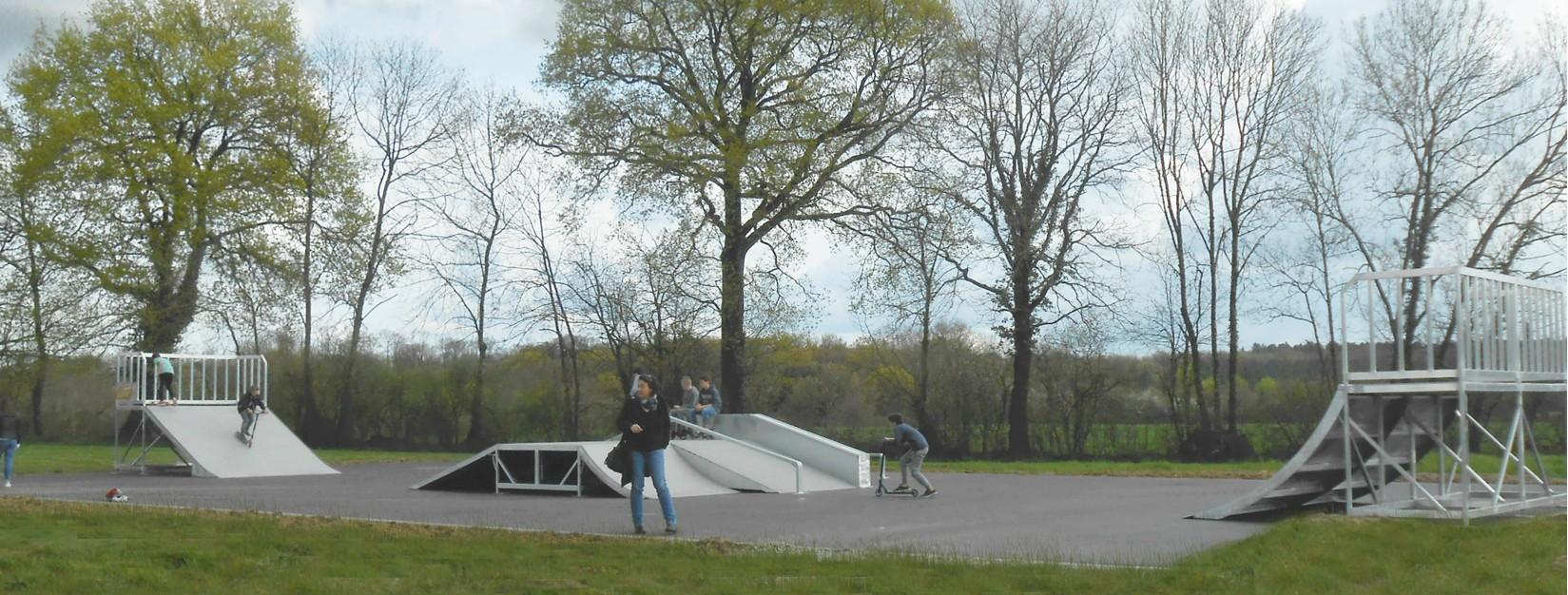 Skatepark configuration 1